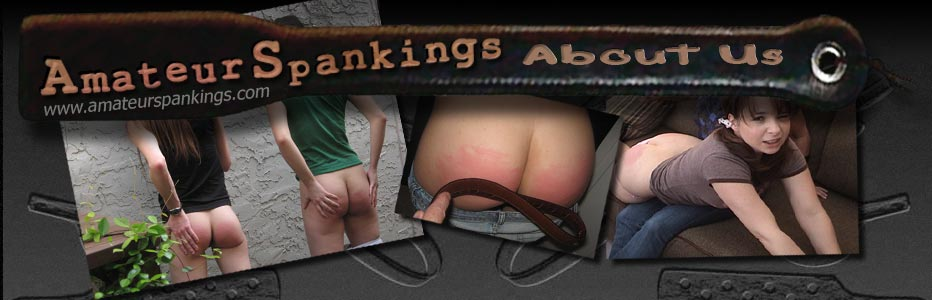 Amateur Spankings about us page header