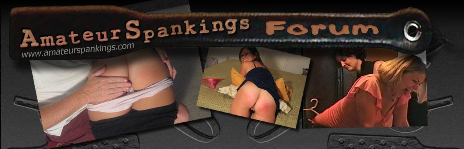Amateur Spankings forum page header