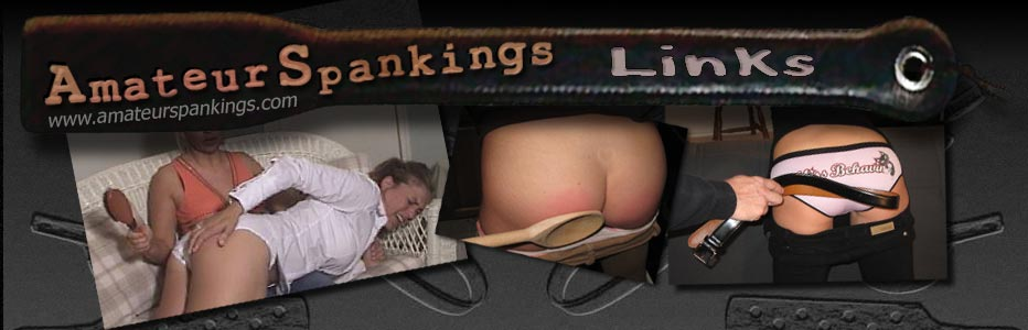 Amateur Spankings links page header