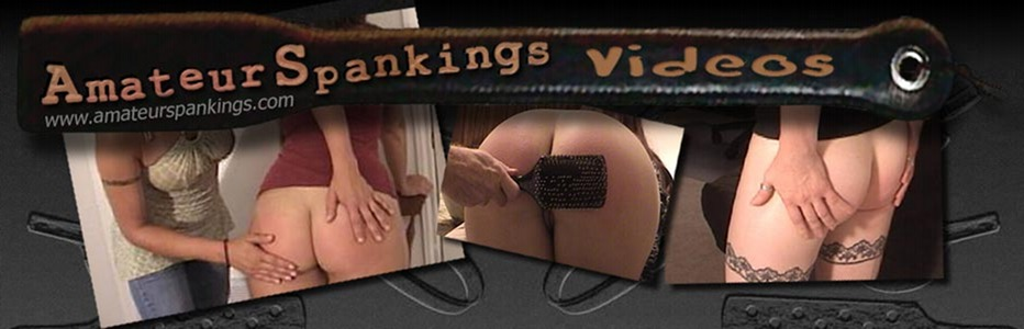 Amateur Spankings videos page header