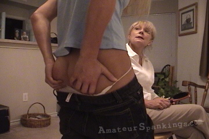 real amateur spanking